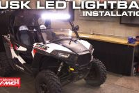 Diagram for Wiring A Led Light Bar On A Polaris Rzr 900 Trail New Tusk Led Light Bar Install
