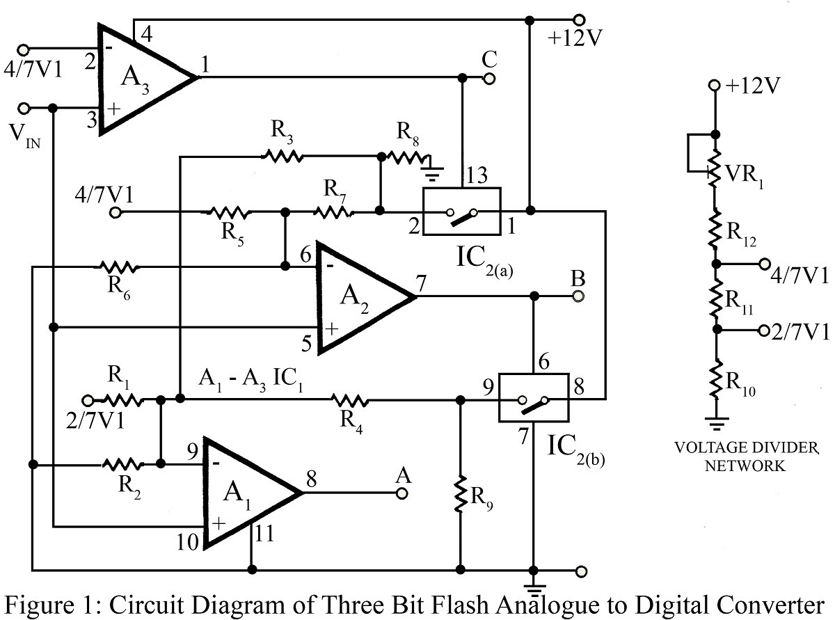 analog to digital circuit page 3 digital circuits nextgr