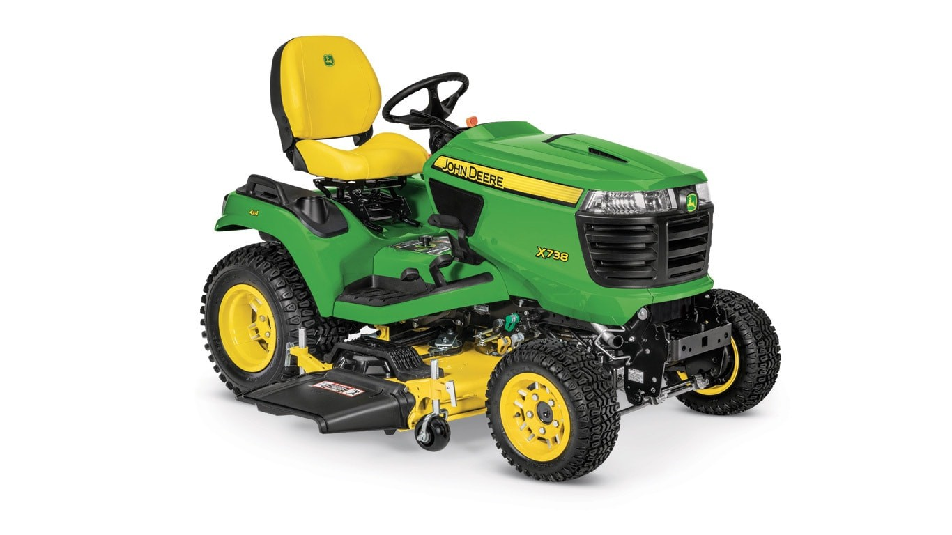 x738 signature series lawn tractor