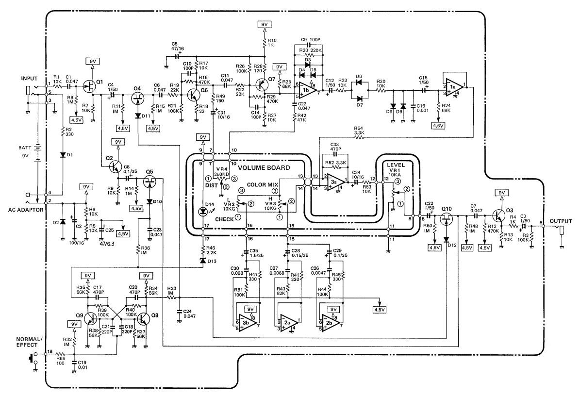 pedale fx56b wiring diagram guitar basic electronics wiring diagram