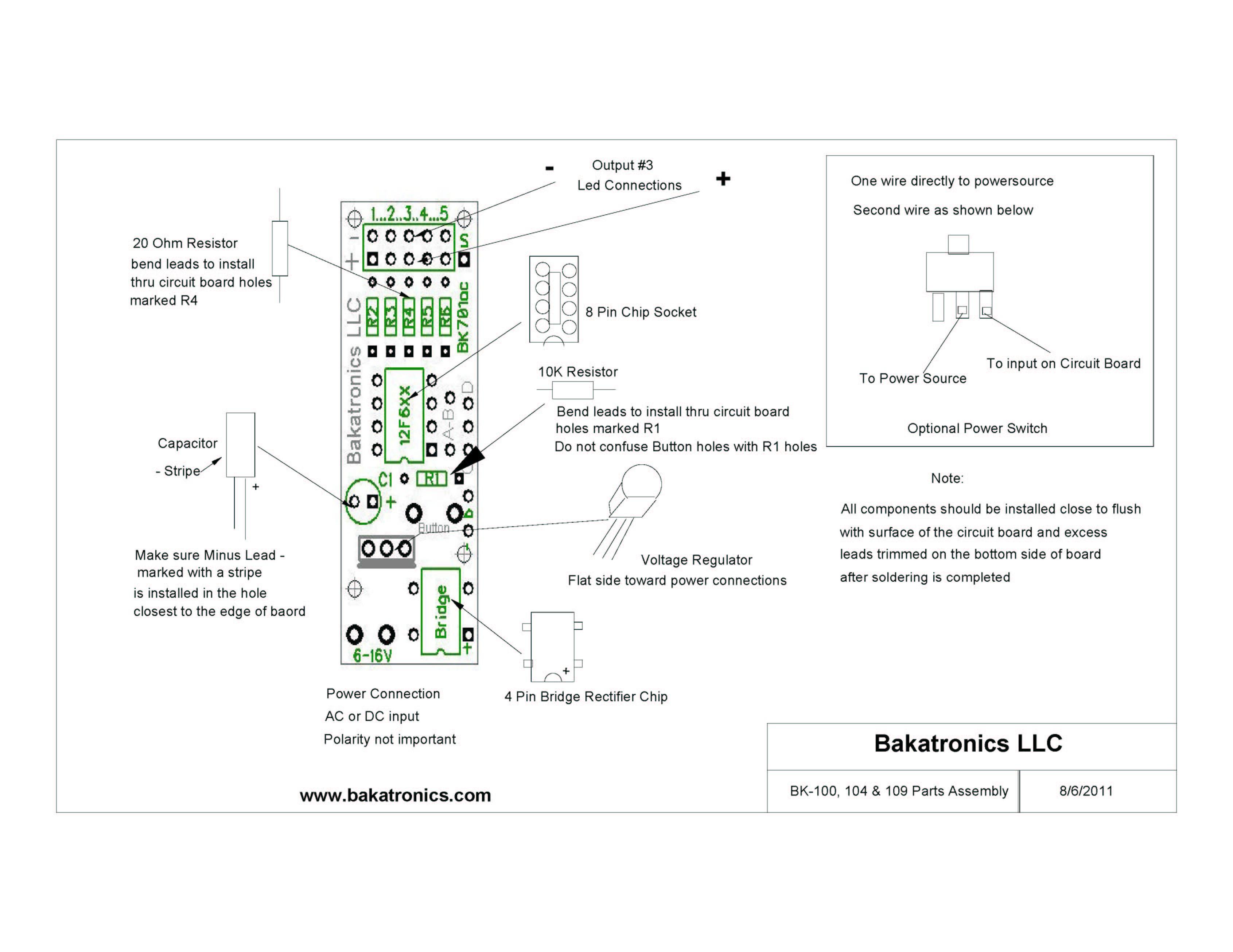 BK100 diagram