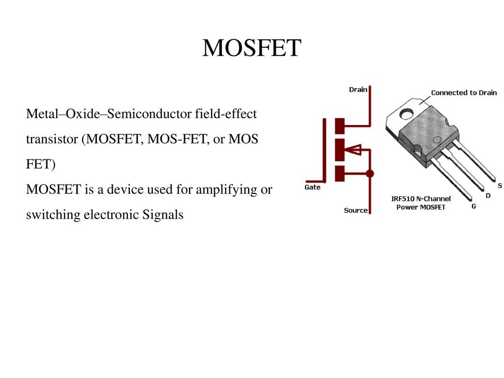 beacon flasher using microcontroller and pwm fed mosfet ppt