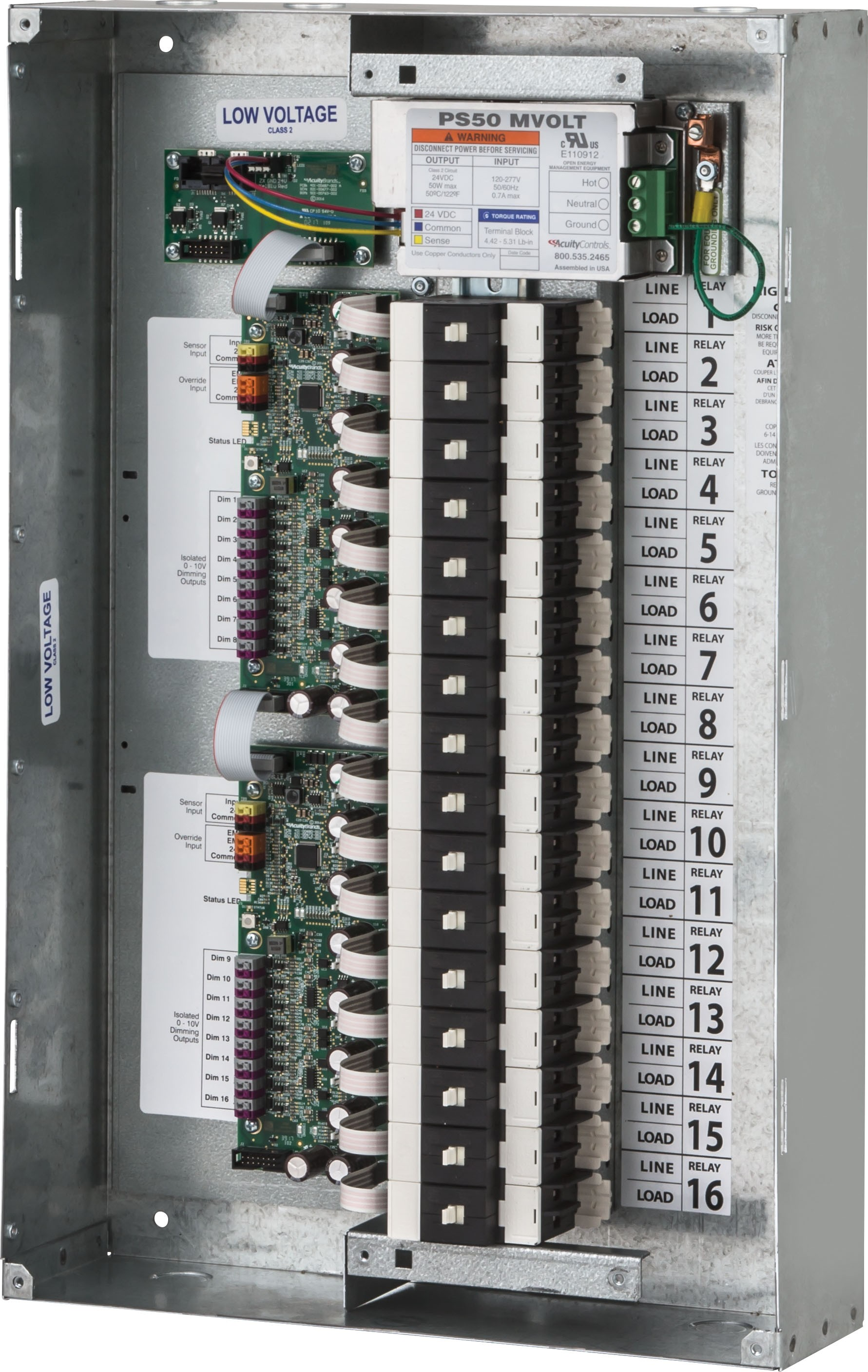 nlight arp relay panel 16 left facing interior sans cover