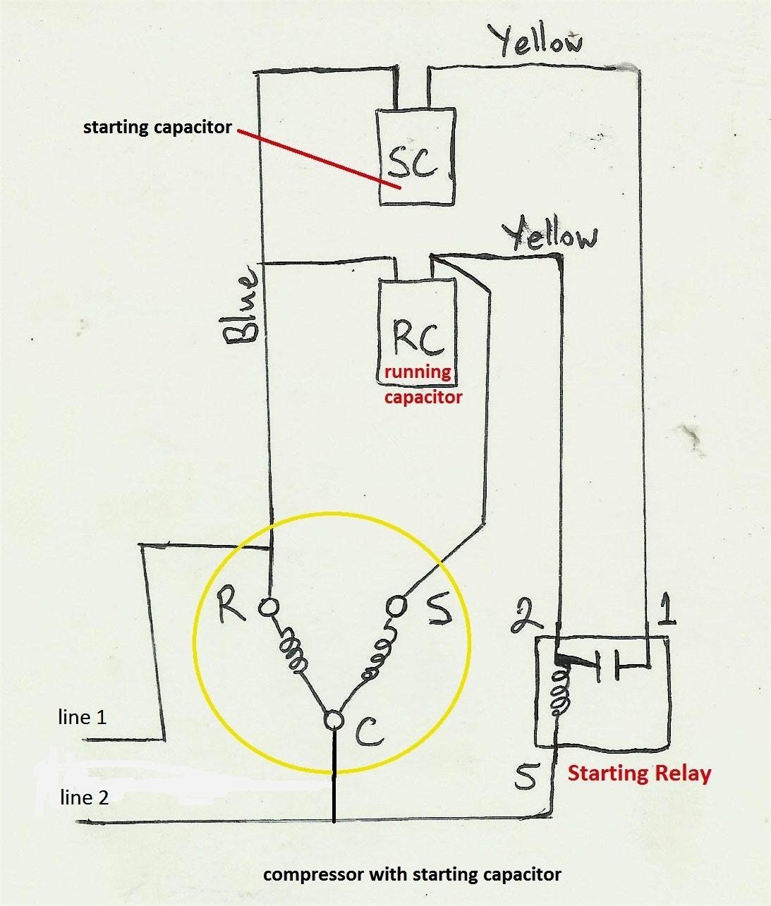 hvac pressor wiring diagram wiring diagram experts