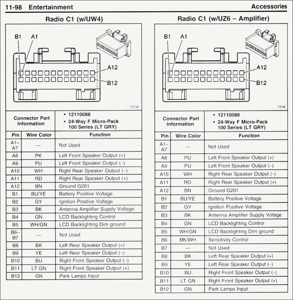 2006 chevy silverado stereo wiring diagram awesome great 2004 2500hd