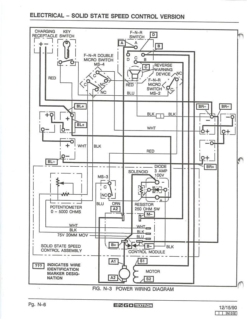 ezgo wiring diagram gas golf cart eyelashme