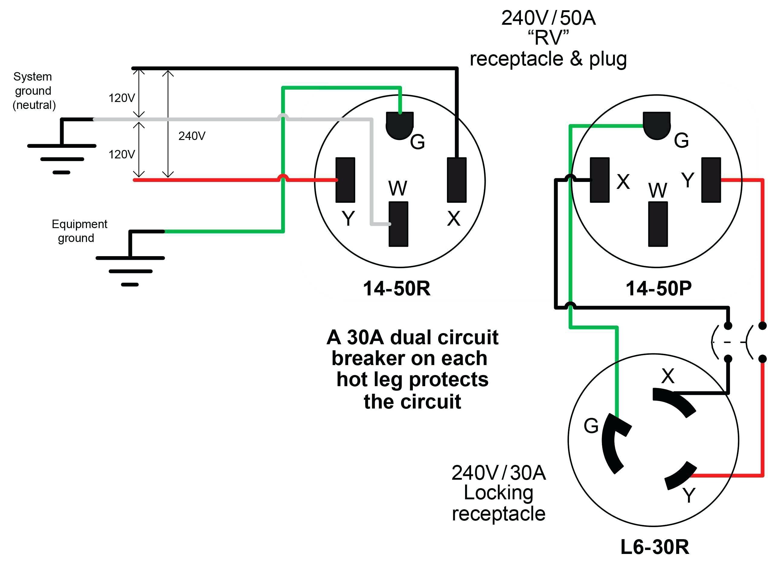 110 plug wiring diagram