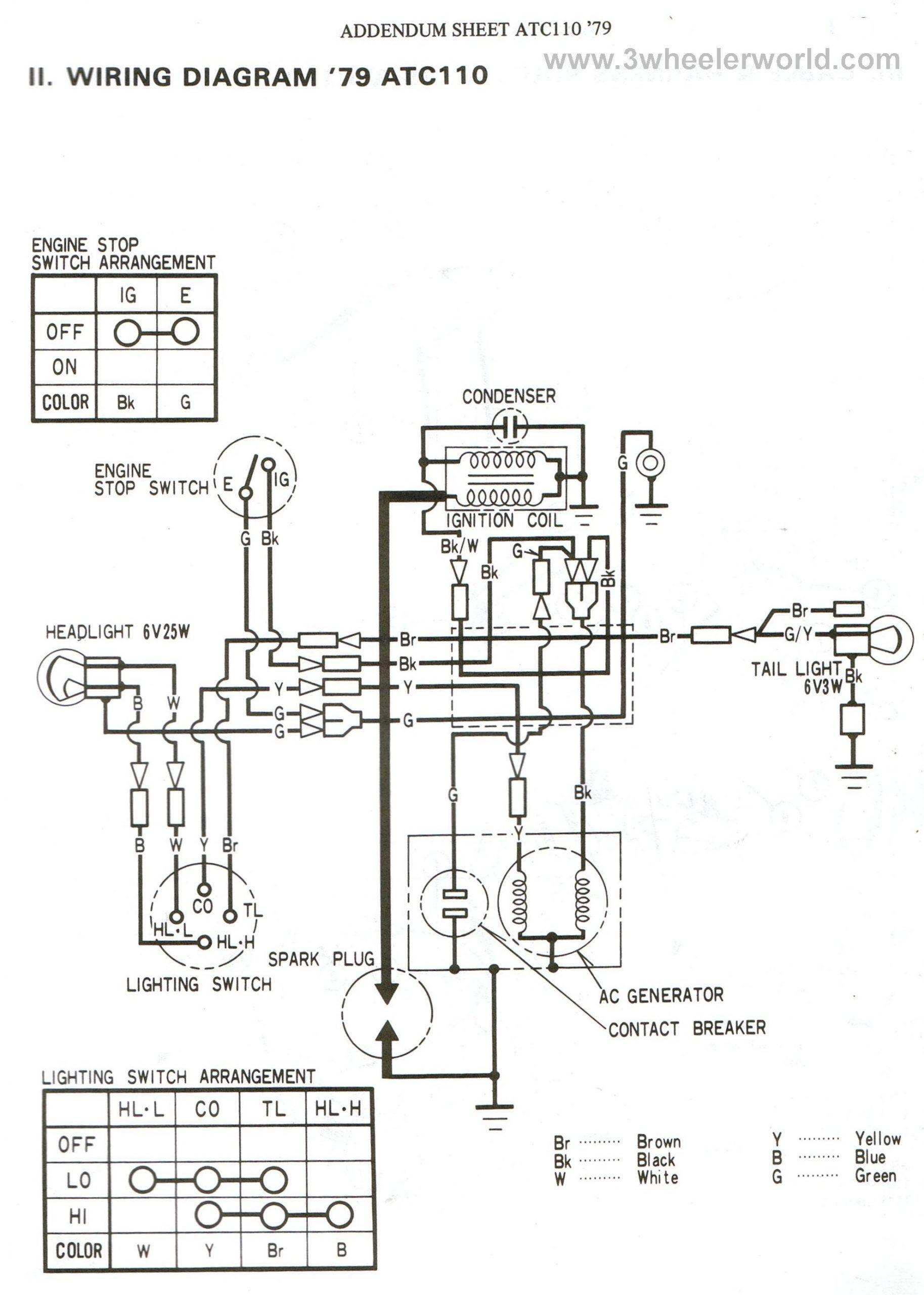 honda lead 110 wiring diagram