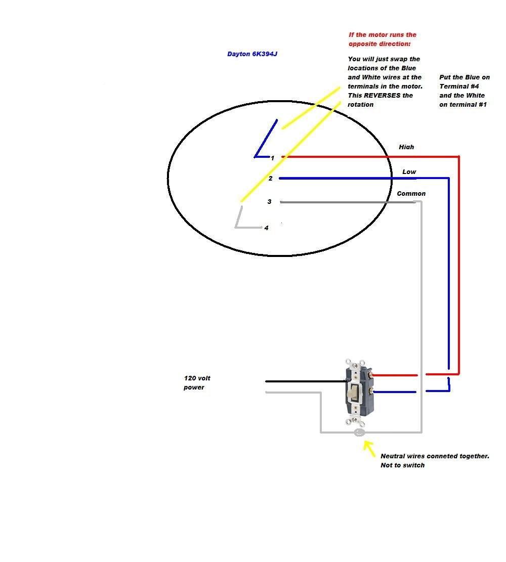 277v wiring diagram for fan motor