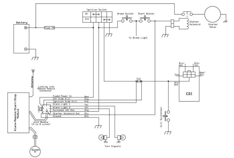 need help wiring remote shut offml