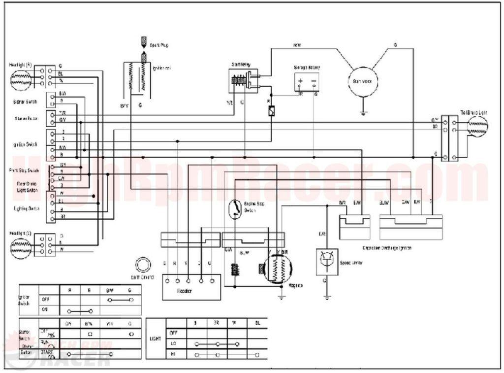 chinese quad electrical diagram wiringml