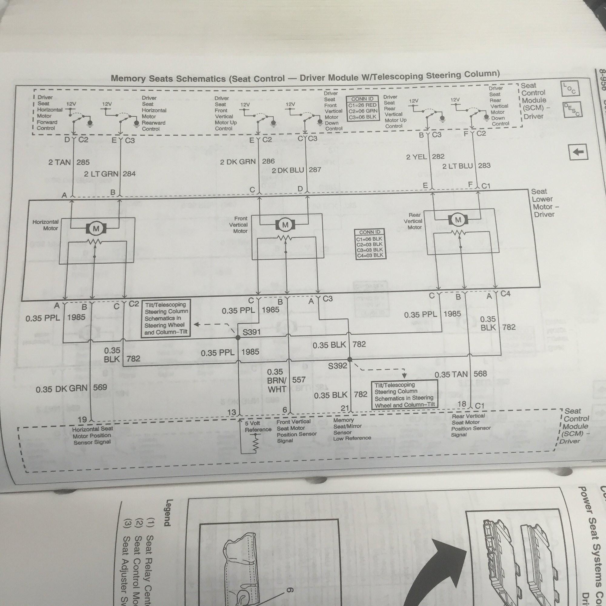 power seat wiring diagramml