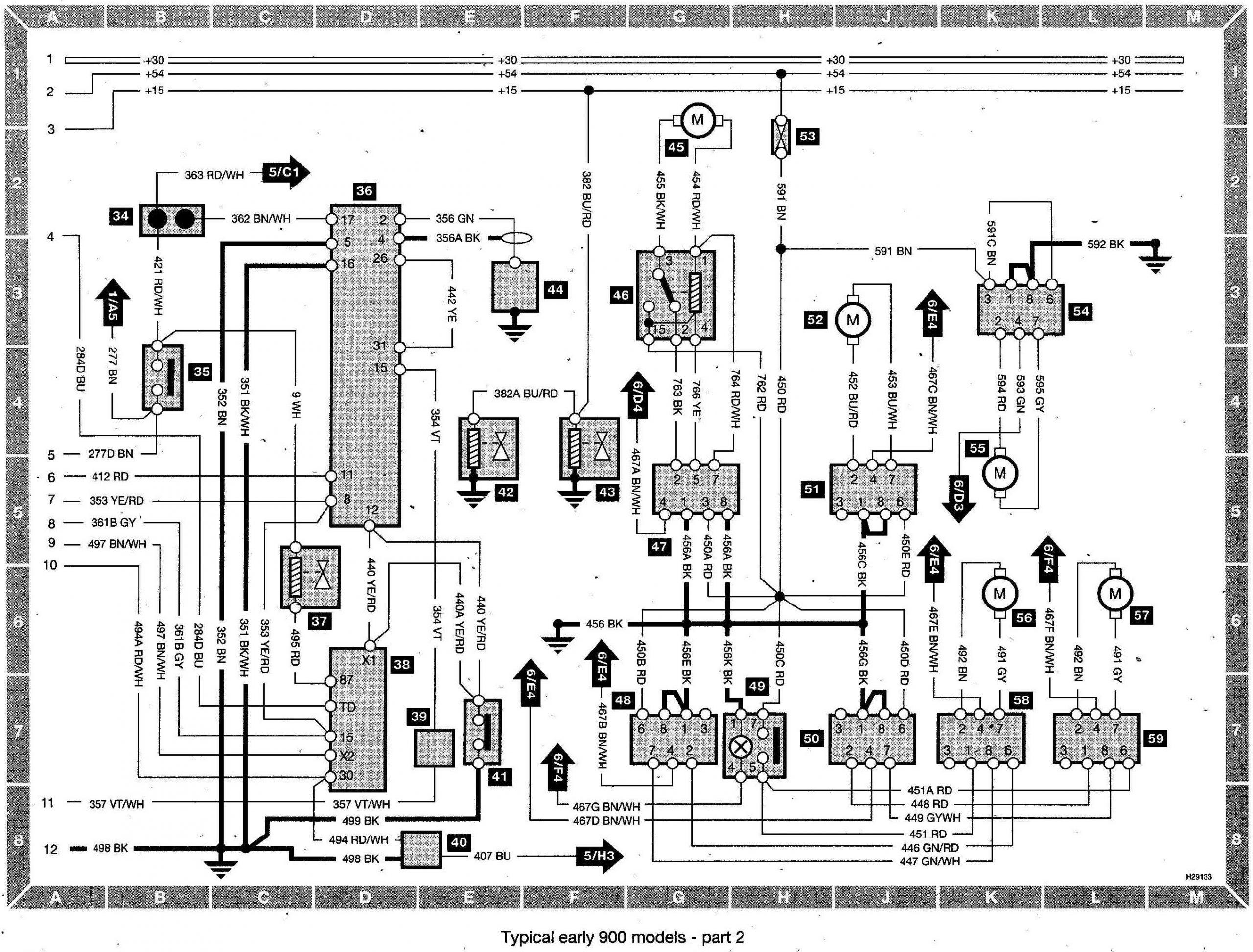 saab 9 3 mirror wiring diagram