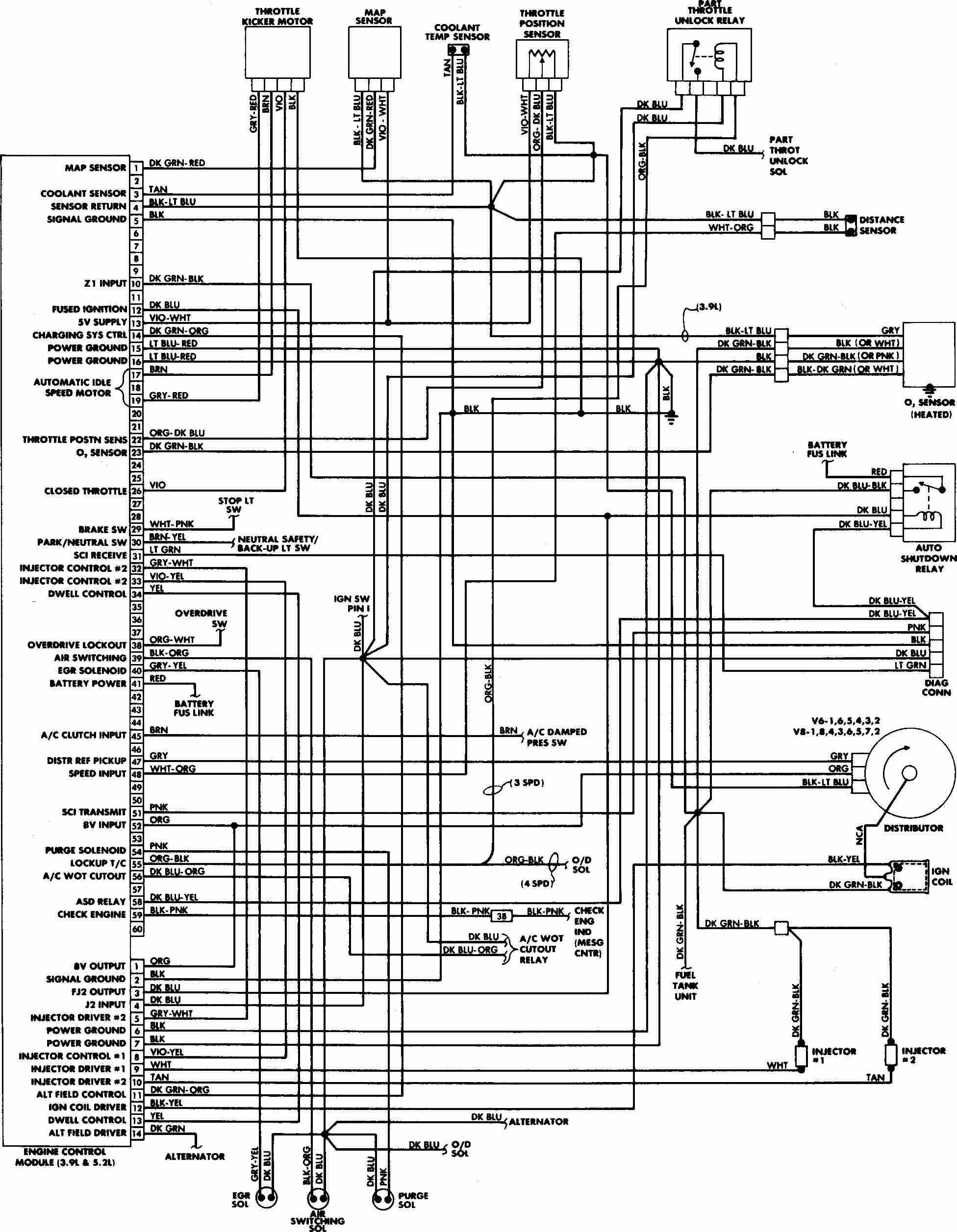 dodge durango abs module wiring harness diagram