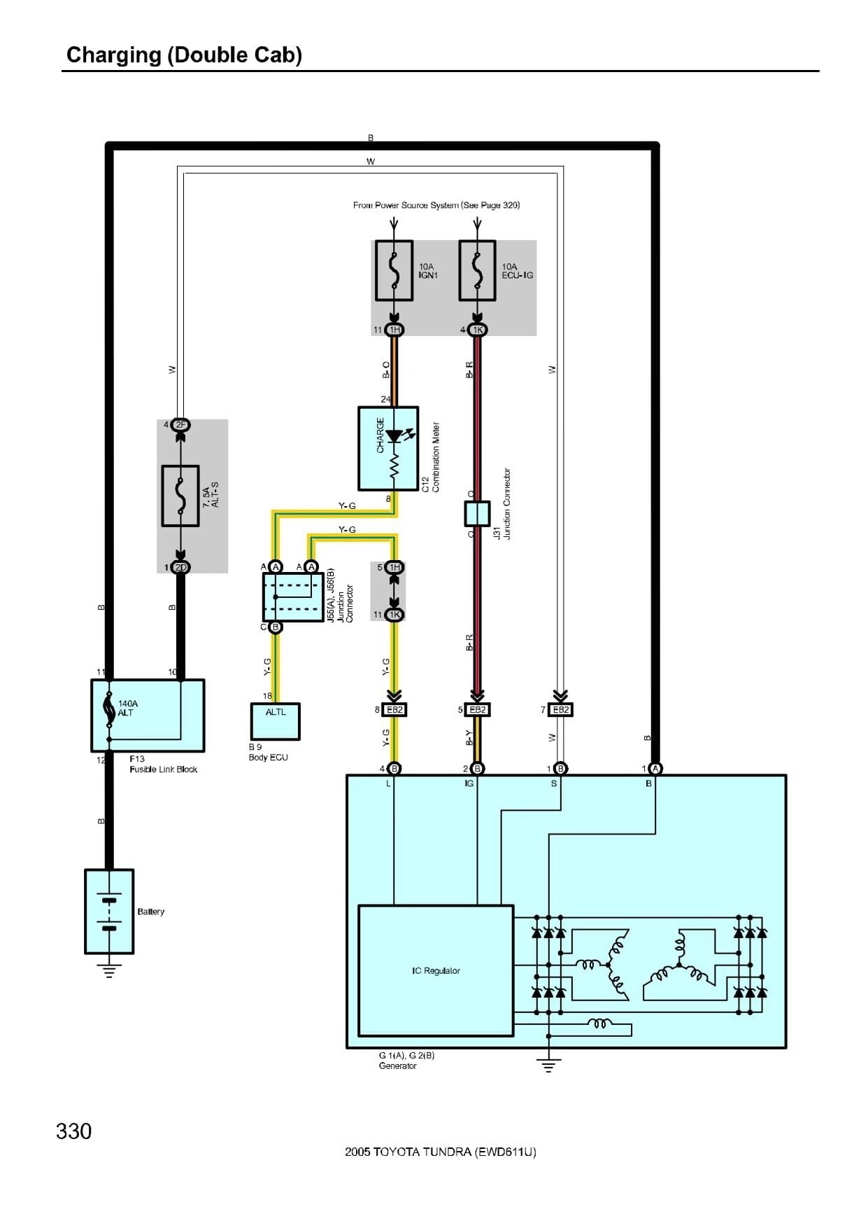engine diagram 2111 tundra