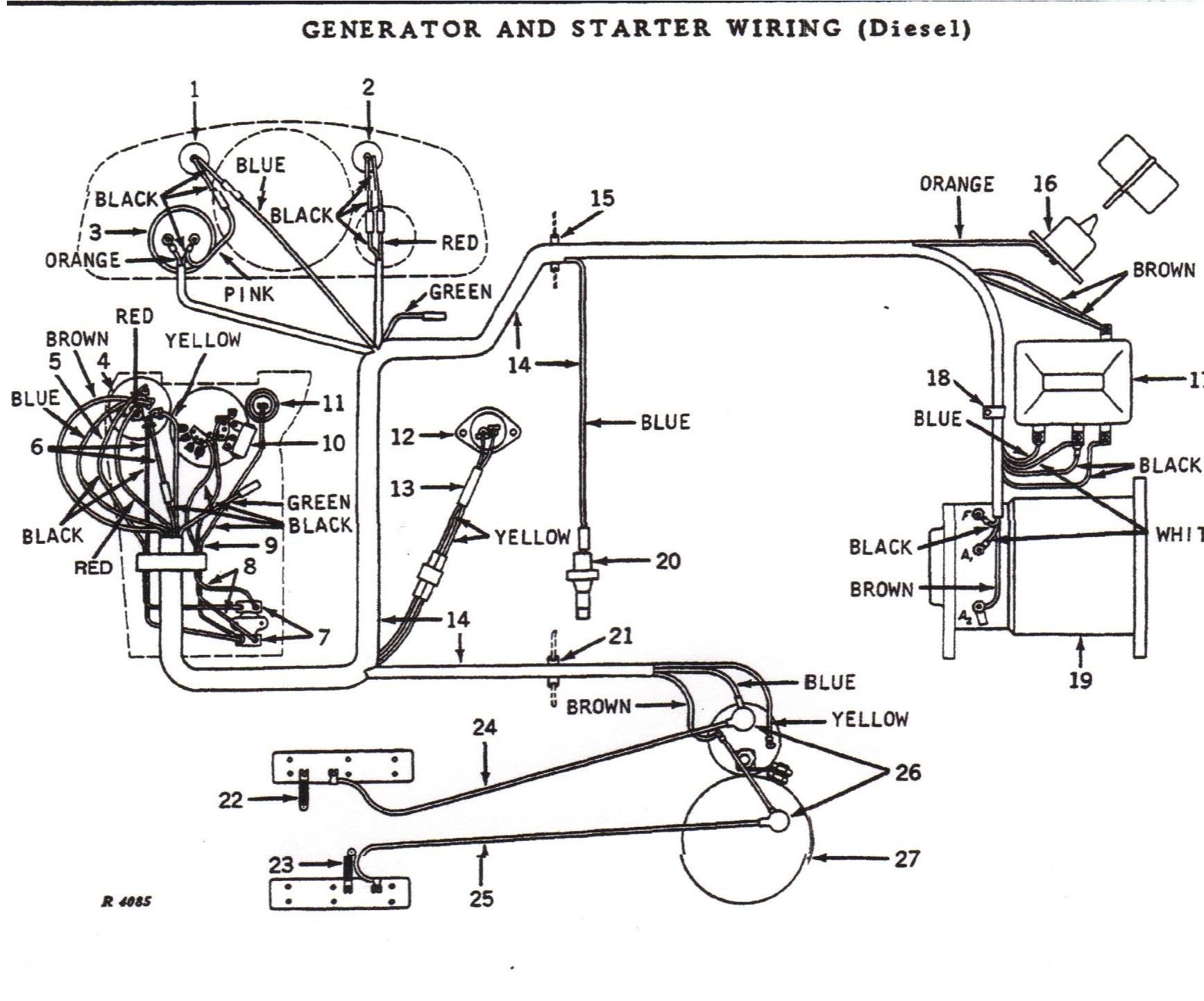 john deere 4020 wiring diagram