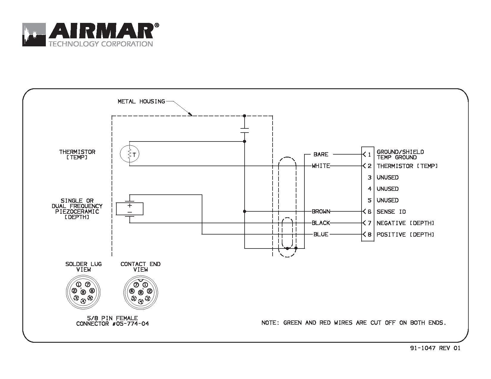 need help splicing transducer wires garmin furunoml