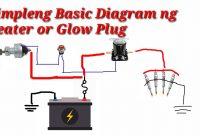 Glow Plug Relay Diagram Awesome Simpleng Basic Diagram O Connection Ng Heater Plug or Glow Plug