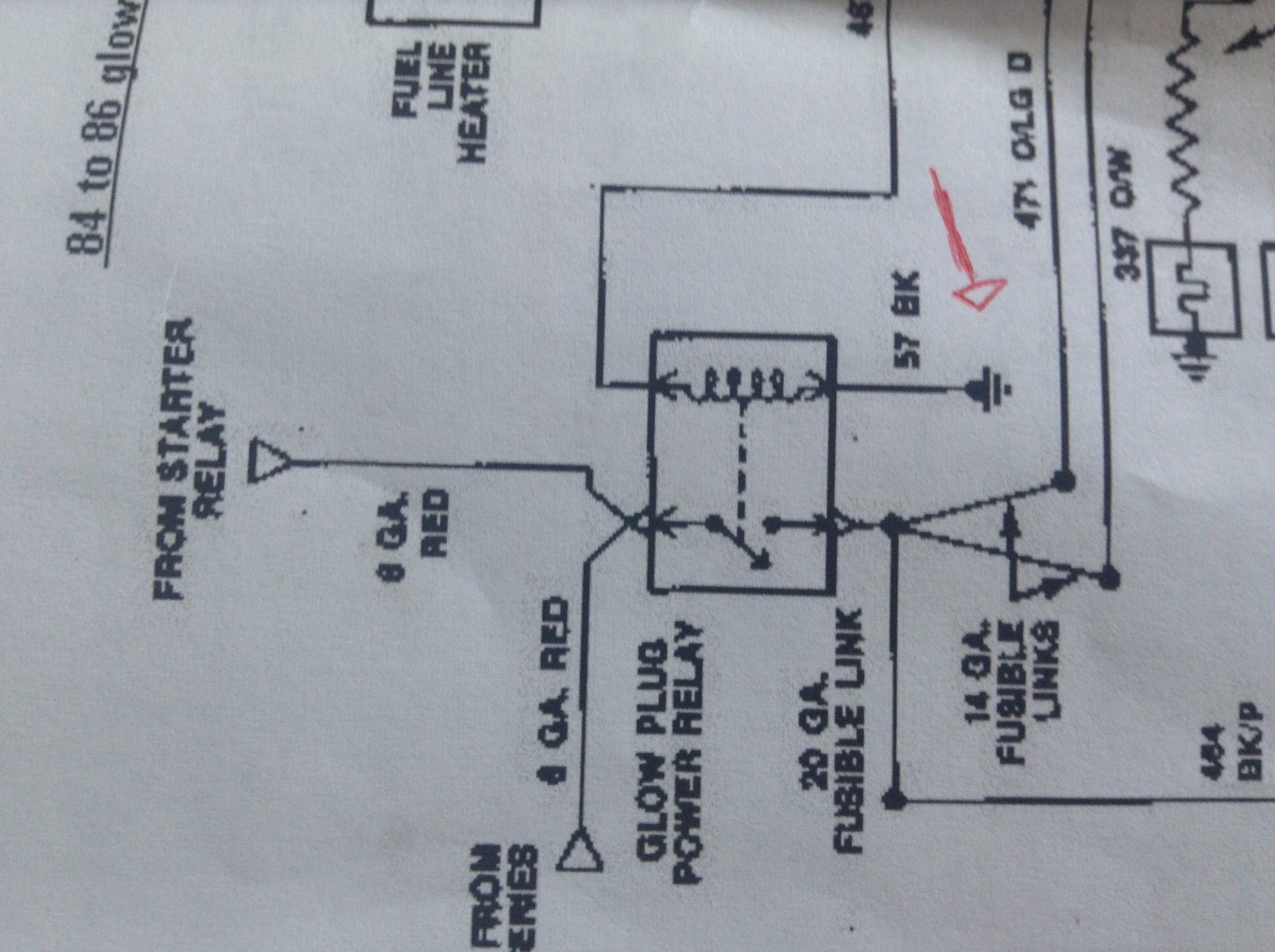 glow plug relay wiring easy one