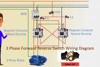 Reverse Switch Diagram Elegant 3 Phase forward Reverse Switch Wiring Diagram Contactor Wiring Motor Wiring